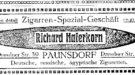 Richard Haferkorn, Paunsdorf, Dresdner Str. 39