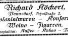 Richard Köckert, Paunsdorf, Schulstr. 2