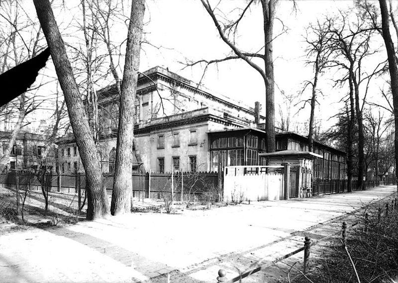 "Vor dem Rosentaltor, Konzertcafé ""Bonorand"", um 1910"